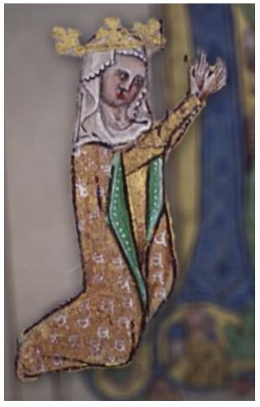Eliška - malba z antifonáře