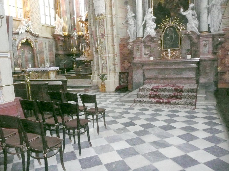 místo hrobu Jindřicha z Lipé