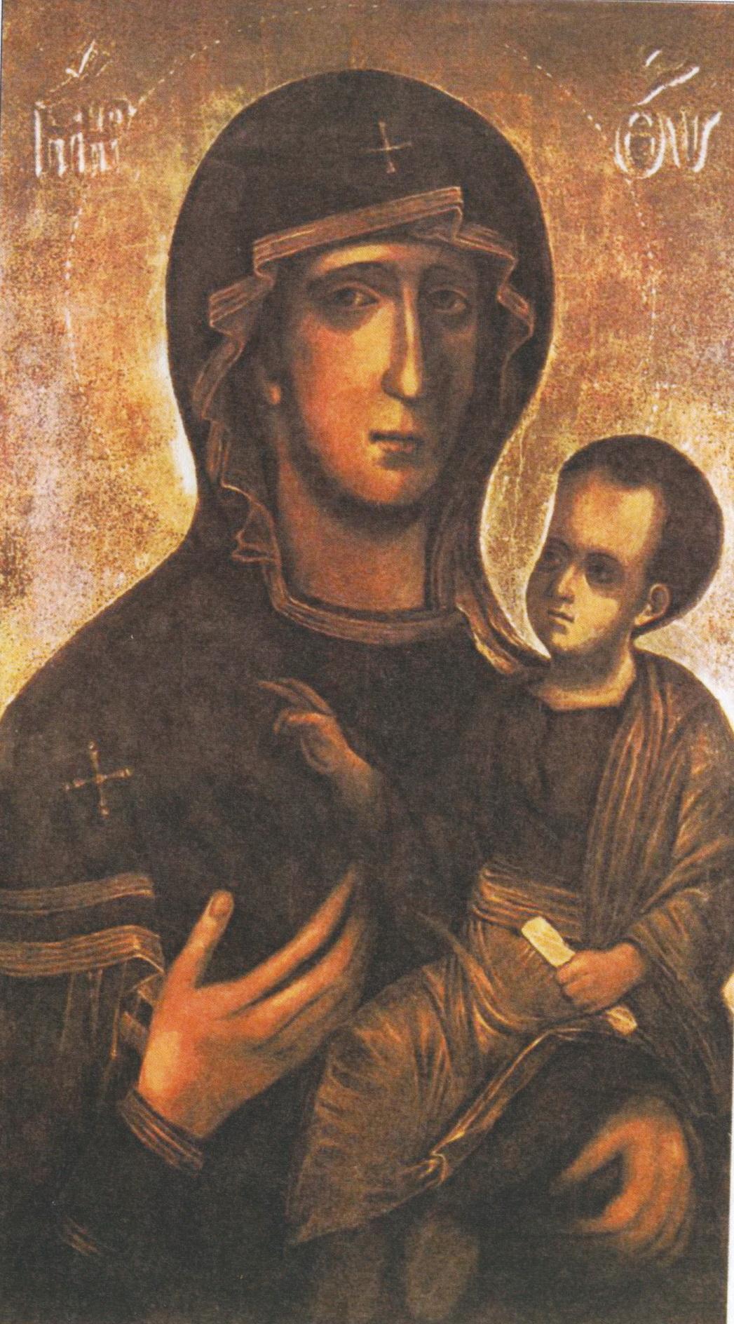 obraz P. Marie Svatotomské po rekonstrukci