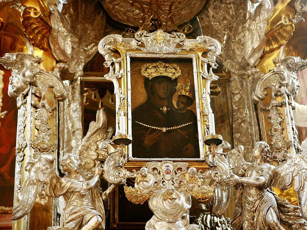 Madona na stříbrném oltáři