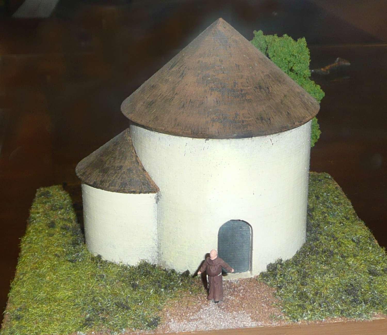 Model rotundy na Starém Brně - muzeum starobrněnského opatství