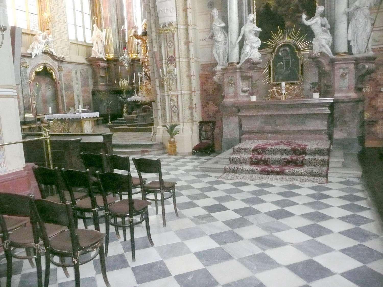 Místo hrobu Jindřicha z Lipé 3