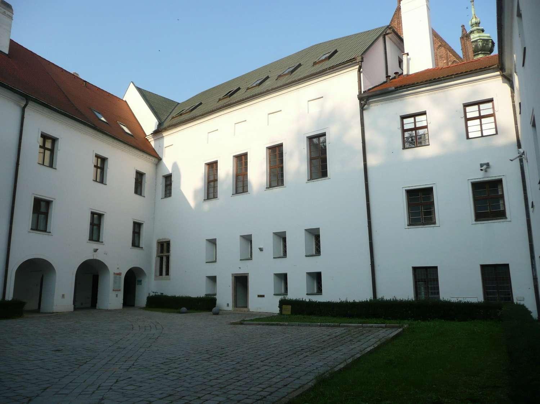 Nová budova kláštera cisterciaček z roku 1663