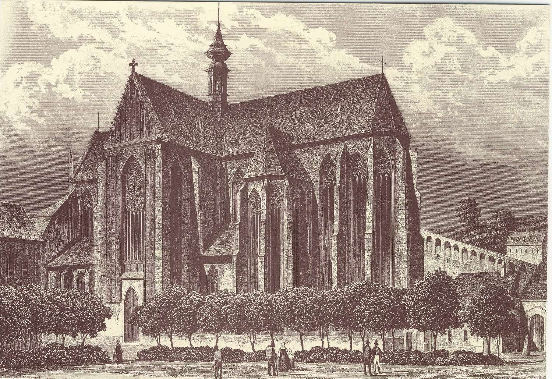 Kresba z roku 1840