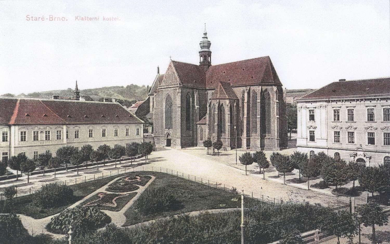 Kostel a klášter z roku 1907