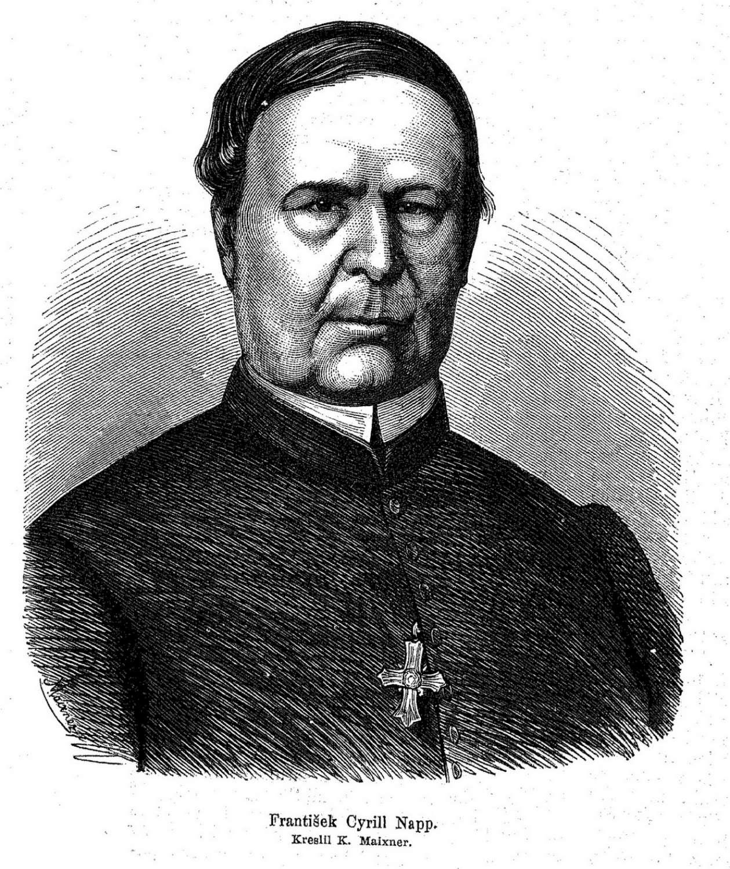 Opat Cyril Frantisek Napp - za jeho působení dochází k rozkvětu kláštera