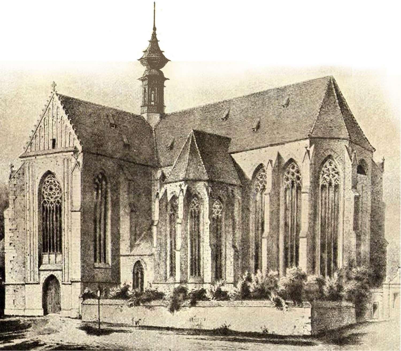 Kostel P. Marie na Starém Brně 1783