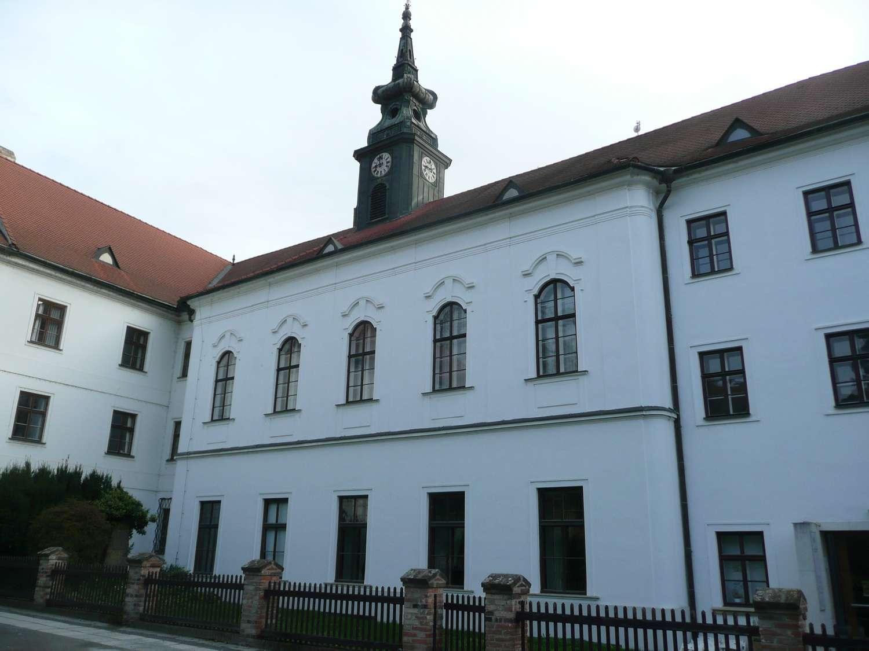 Augustiniány postavený refektář a knihovna na Starém Brně