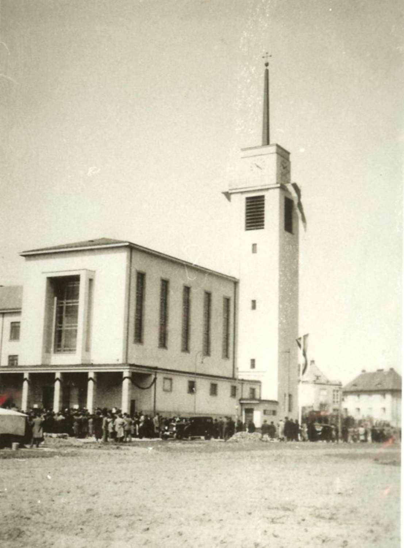 Svěcení kostela sv. Augustina_1935