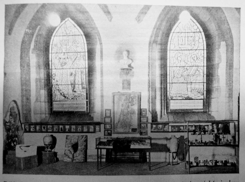 Biblické muzeum v kapitulní síni kláštera