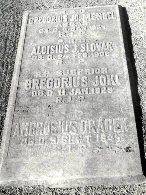 hrob J.G. Mendela