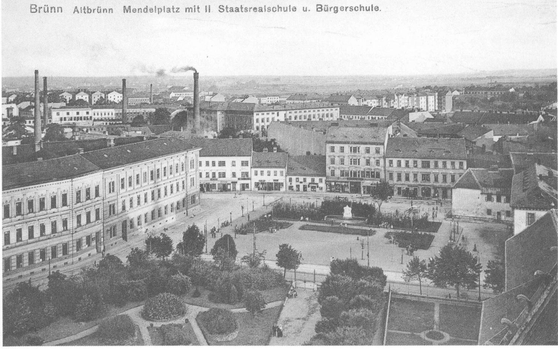 Mendlovo náměstí 1912