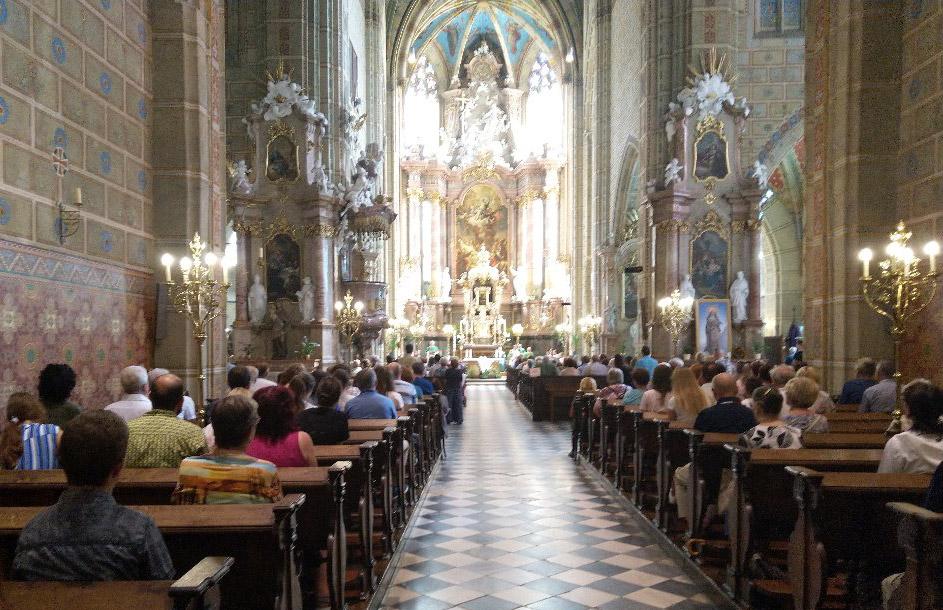 Nedělní koncert v bazilice